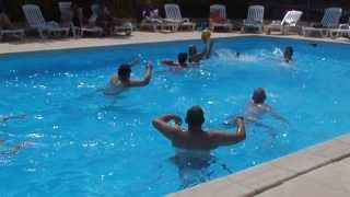 Water-polo au camping La Castillonderie à Thonac- Montignac