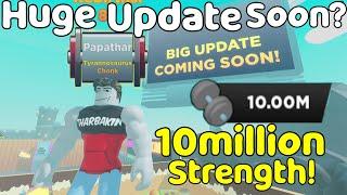 Got 10 Million Strength In StrongMan Simulator!