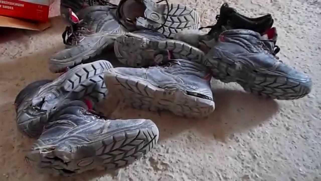 Safety Shoes Sole damage - YouTube