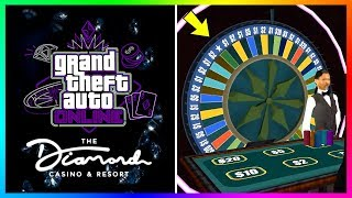GTA 5 Online Casino DLC Update - LUCKY WHEEL! Life Changing Prizes, Exclusive Rewards & MORE!