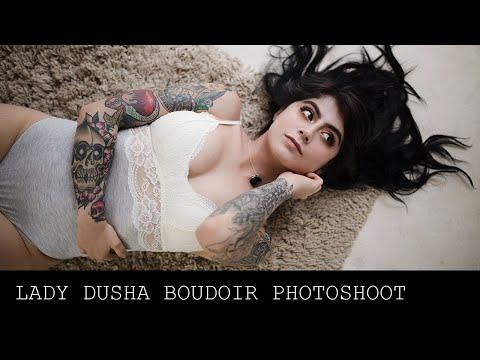 B�rbara Ivannova (Lady Dusha) Boudoir Photoshoot en Tulum