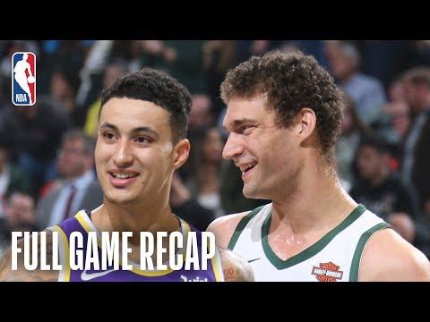 Bucks - Bucks fend off Lakers 115-101 on Tuesday night