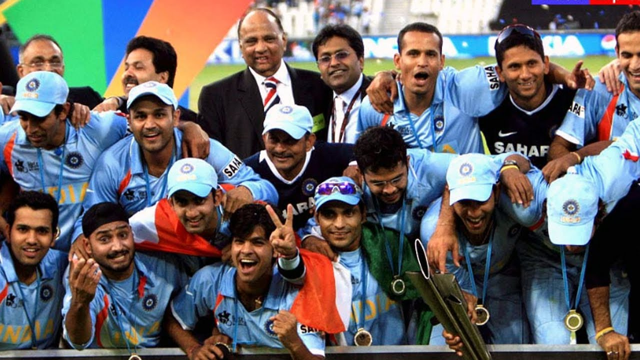 Icc World T20 2007 Team India S Hour Of Glory Youtube