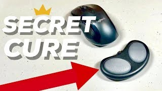 HOW TO Get Rid of Carpal Tunnel Pain! BEST MOUSE & MOUSE PAD REVIEW! 3 Easy Methods