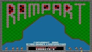 Rampart gameplay (PC Game, 1991)