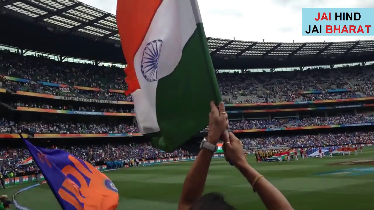 Download In Australia 70,000 People Singing Indian National Anthem at Australian Cricket Ground
