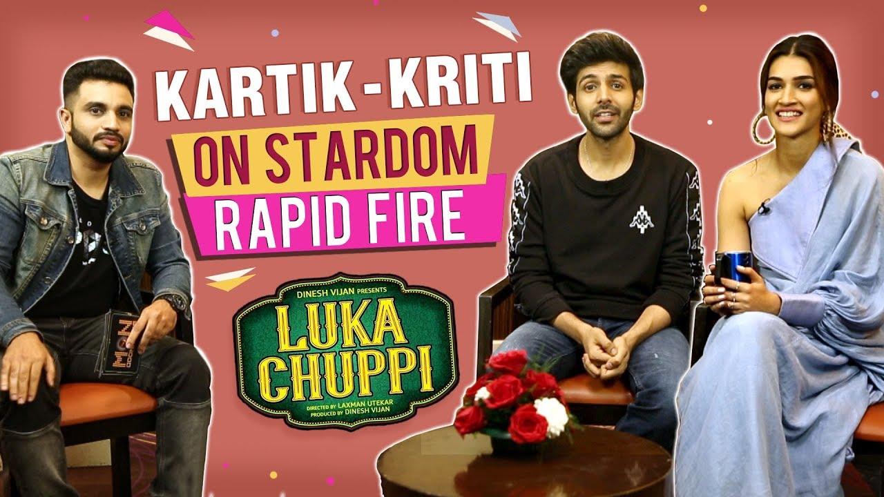 Kartik Aaryan Talks About LIVE-IN Relationship With Kriti Sanon   Luka Chuppi   EXCLUSIVE