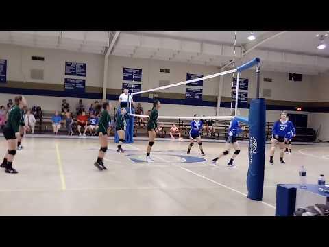Thomas Sumter Academy Lady General Varsity Volleyball verses Calhoun Academy