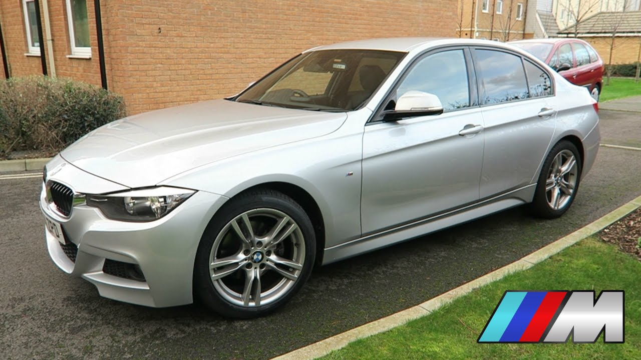 bmw f30 320d m sport 2014 silver 3 series saloon tour engine start overview my new car. Black Bedroom Furniture Sets. Home Design Ideas
