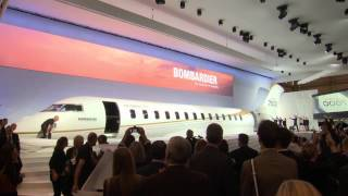 Bombardier Unveils The Global 7000 Mock-up—the largest in Business Aviation