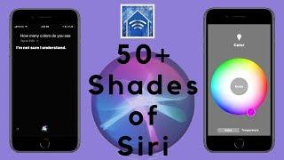 HomeKit HowTo: 50+ Shades of Siri
