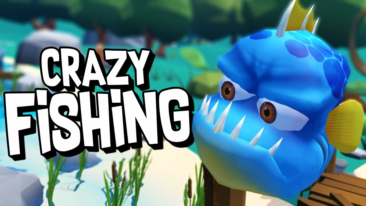 Catching crazy fish in virtual reality crazy fishing for Crazy fishing videos