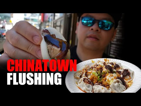 NEW YORK CHINATOWN FLUSHING QUEENS FOOD TOUR 2019