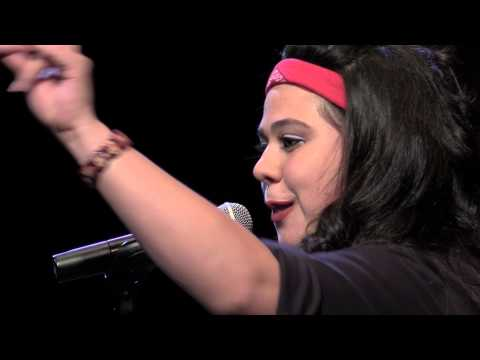 "Women of the World Poetry Slam Finals 2015 - Mercedez Holtry ""La Washa"""