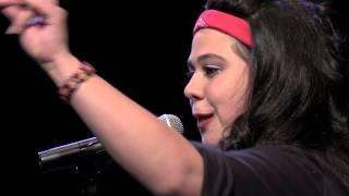 "Women of the World Poetry Slam Finals 2015 - Mercedez Holtry ""La Washa"""