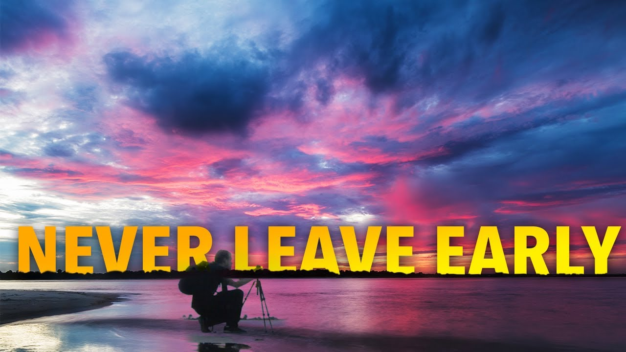 Landscape Photography VLOG - Never Leave Early!