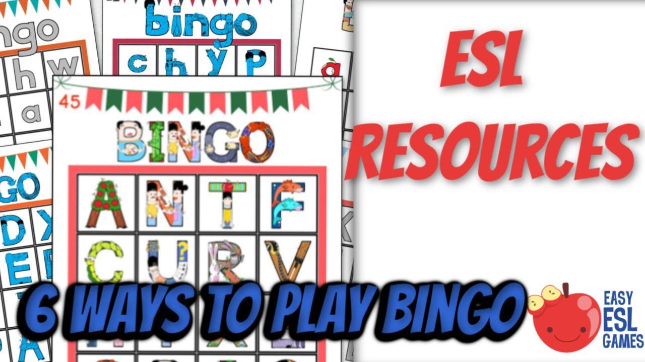 esl resources 6 ways