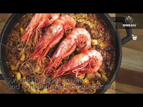 Рецепты для хоспера: Жаркое из мяса и морепродуктов с рисом