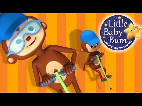 Jack Be Nimble | Nursery Rhymes | By LittleBabyBum!