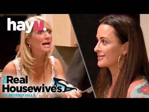 The Richards Sisters Squabble | The Real Housewives of Beverly Hills