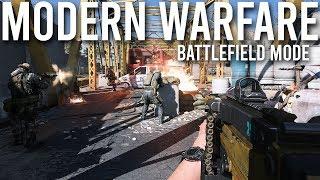 Modern Warfare 64 player Battlefield mode detailed