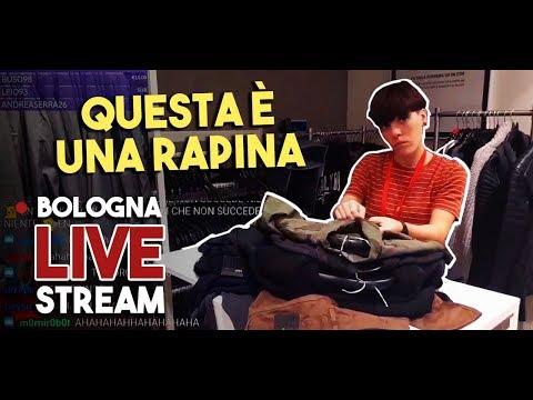 HOMYATOL LIVE - Shopping A Bologna Con Text-To-Speech