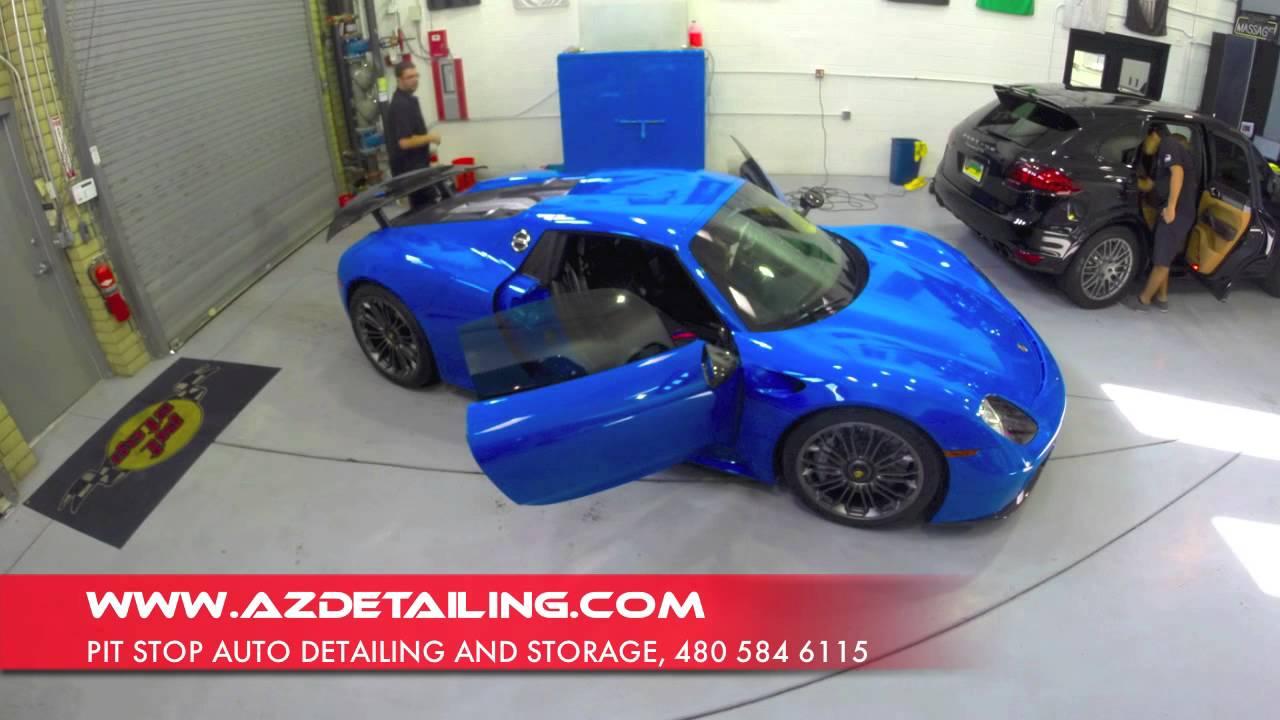 Merveilleux Porsche 918 Spyder   Pit Stop Auto Detailing And Storage, Scottsdale, AZ    YouTube