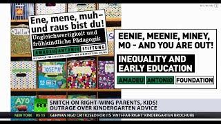 Snitch on right-wing parents, kids! ... says German kindergarten brochure