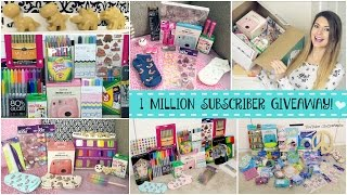 1 MILLION SUBSCRIBER GIVEAWAY!!! SoCraftastic