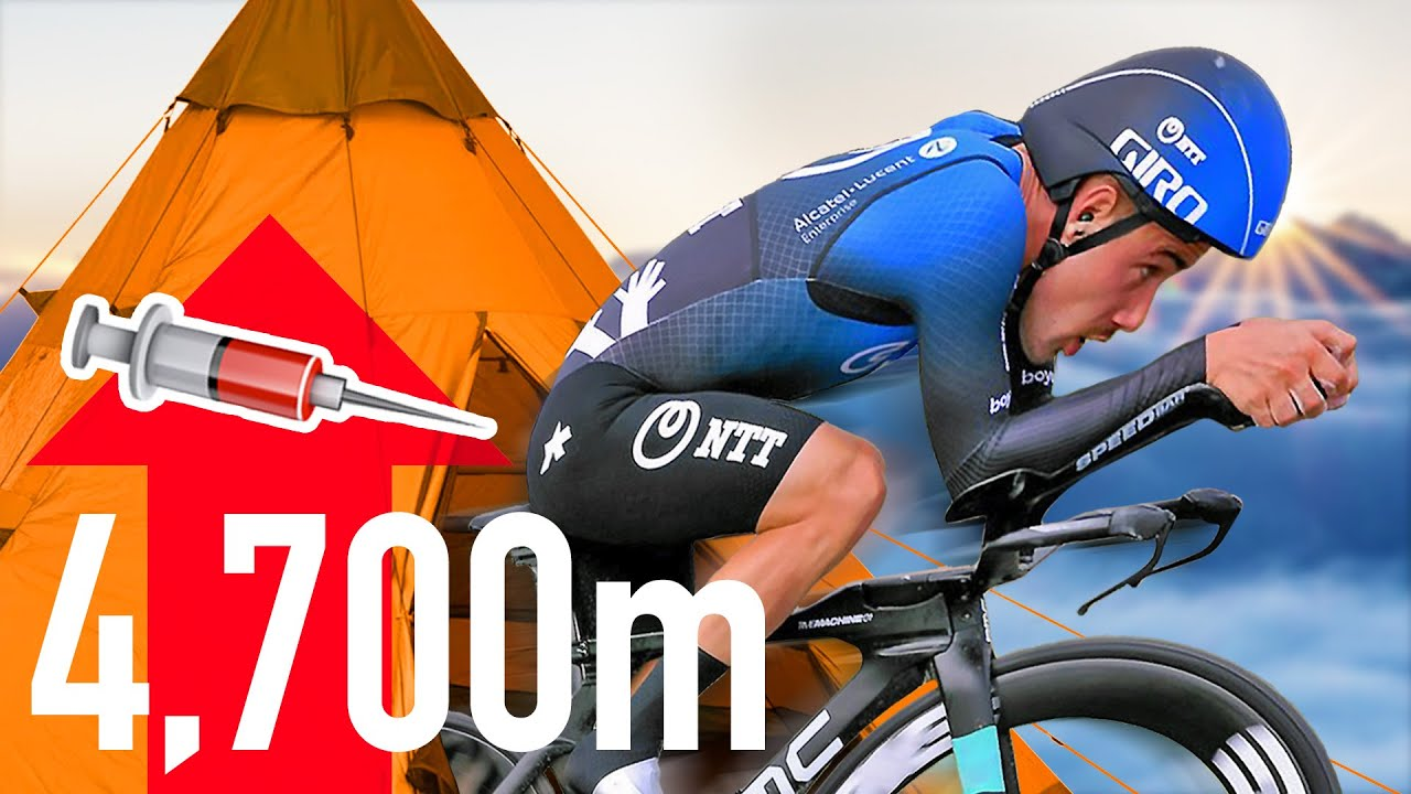 How to Win a Bike Race with a Tent?!