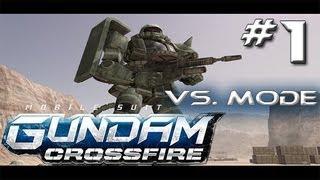 Mobile Suit Gundam: Crossfire Vs. Mode w/ Ardy & Christian - Part 1