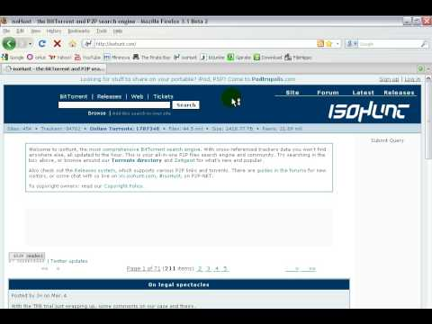 Top 5 Torrent WEBSITES