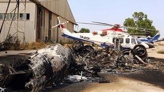 مواجهات ضارية حول مطار طرابلس