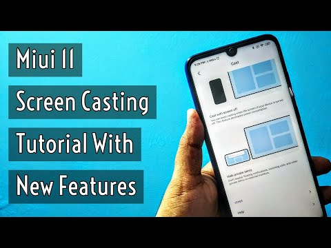 Miui 11 Screen Casting Tutorial Awesome New Features | Cast With Screen Off & Minimize Window