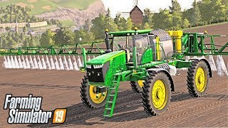THE JOHN DEERE CROP SPRAYER IS BACK!  - Shamrock Valley 19 - Farming Simulator 2019