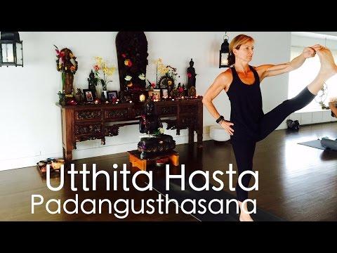 Asana Study: Utthita Hasta Padangusthasana