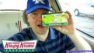Reed Reviews Krispy Kreme Glazed Key Lime Pie