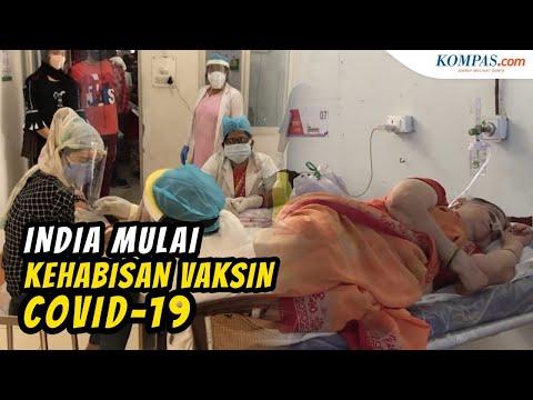 Kasus Kematian Covid-19 Cetak Rekor, India Mulai Kehabisan Vaksin