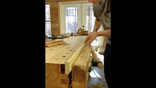Traditional Square Ovolo Wooden Moulding Plane