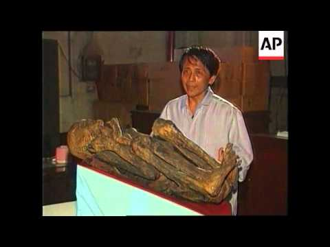 PHILIPPINES: BENGUET: MUMMIFIED REMAINS OF A PAST LEADER