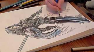 Sephiroth Anime Drawing