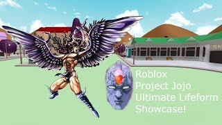 Roblox Projekt Jojo Ultimate Lifeform Showcase!