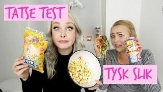 ♡ TASTE TEST - Weird German Candy! // ft. Ida ♡