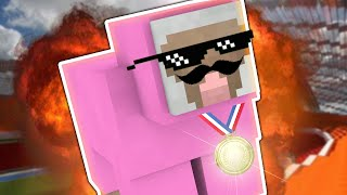 PINK SHEEP WINS GOLD!! | Minecraft Olympics