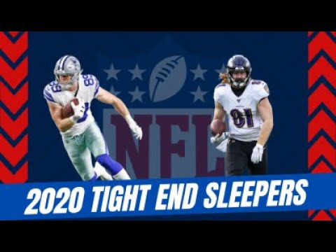 TE Free Agency PLUS Hurst and Jarwin are 2020 fantasy football sleepers!