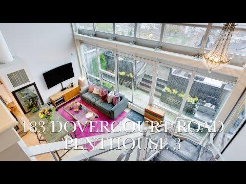 $999,900 - 183 Dovercourt Road - Penthouse 3, Toronto
