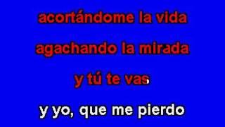 Chayanne Y Tú Te Vas Karaoke