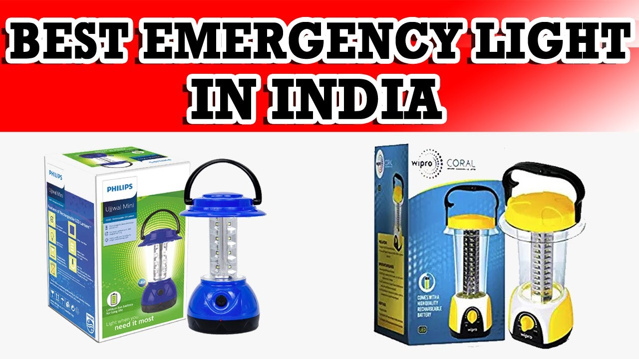 Best Rechargeable Emergency Light In India