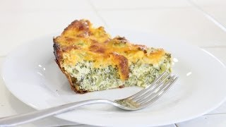 Sara's Crustless Lower Fat Vegetarian Quiche