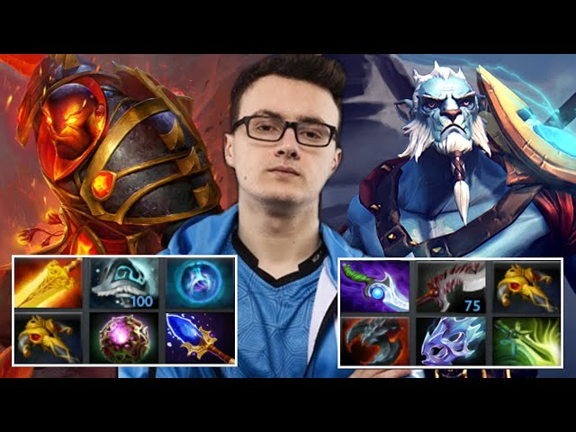 How MIRACLE deal with Full Slotted Illusion Army — Beautiful Ember Spirit Plays
